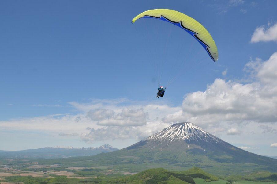 paraglider tandem rusutsu youtei